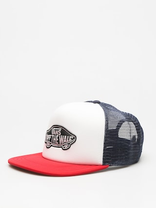 Czapka z daszkiem Vans Classic Patch Trucker ZD (dress/blues white chili/pepper)