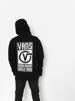 Bluza z kapturem Vans Vans Worldwide ZHD (black)
