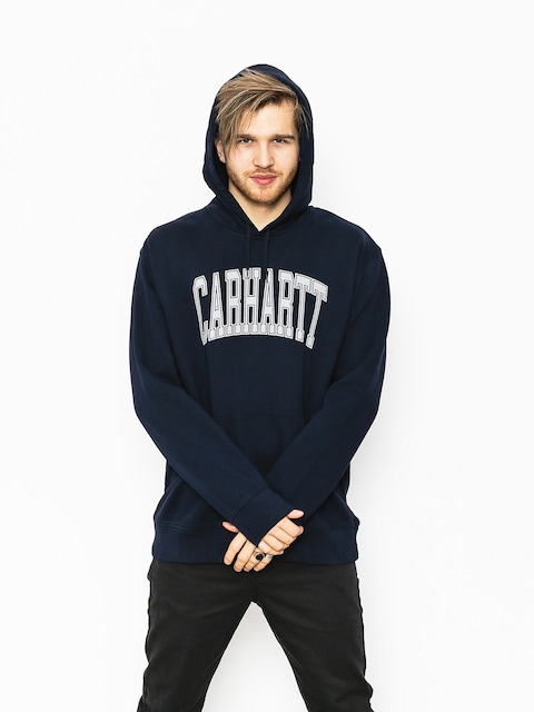 Bluza z kapturem Carhartt Division HD (dark navy/multicolor)