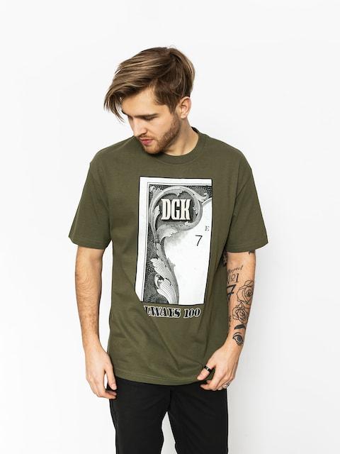 T-shirt DGK Always 100 (military green)