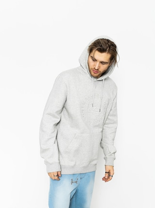 Bluza z kapturem Quiksilver Hood Embossed HD (light grey heather)