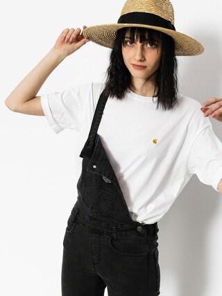 T-shirt Carhartt Chase Wmn (white/gold)