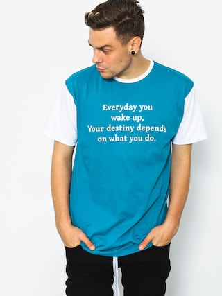 T-shirt Diamante Wear Wake Up (teal)