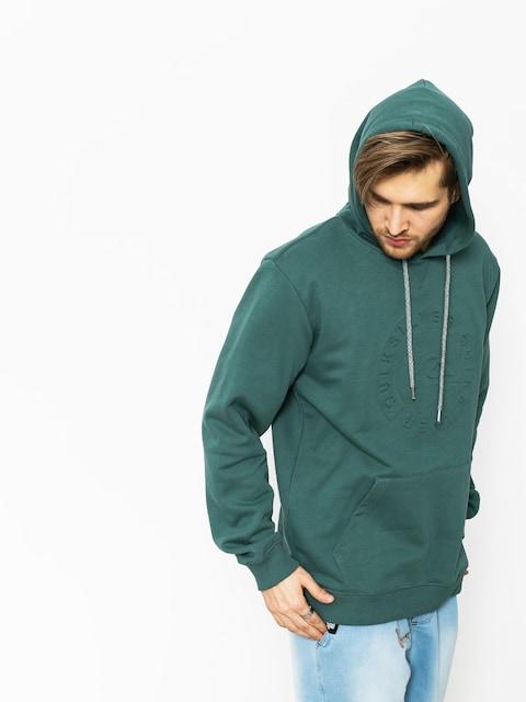 Bluza z kapturem Quiksilver Hood Embossed HD (mallard green)