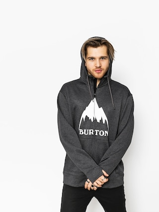 Bluza z kapturem Burton Oak ZHD (true black heather)