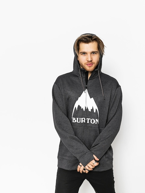 Bluza z kapturem Burton Oak ZHD (true black heather)