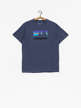 T-shirt Patagonia Shop Sticker Responsibili (dolomite blue)