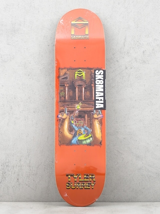 Deck Sk8Mafia 7 Wonders Tyler Surrey (orange)