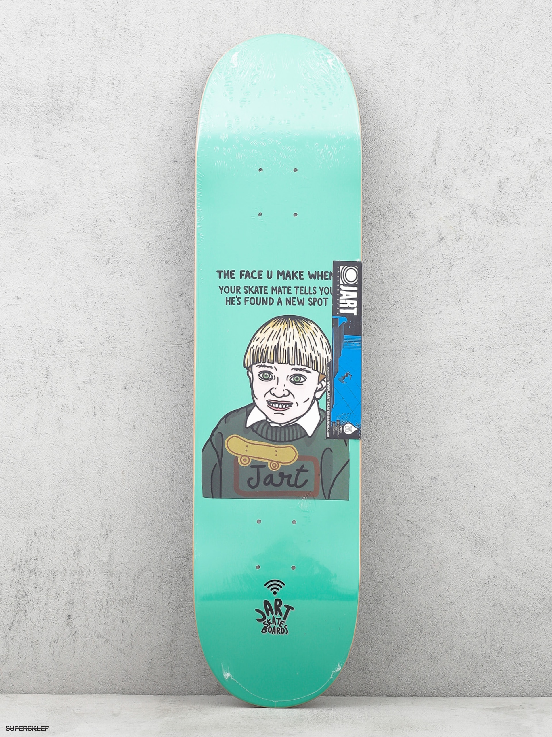 Deck Jart The Face U Make When (mint green)