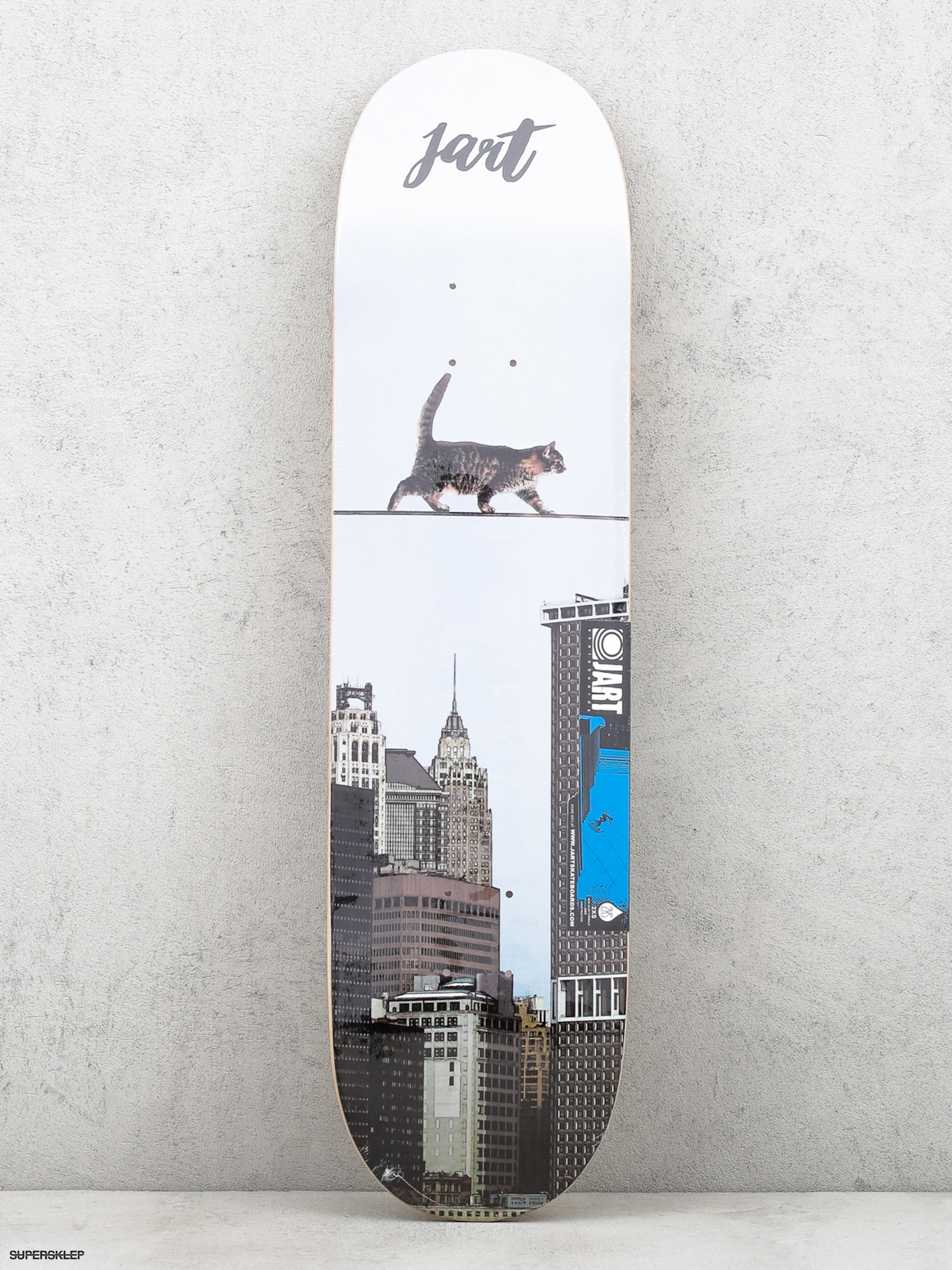 Deck Jart Metropolitan (steel white/black)