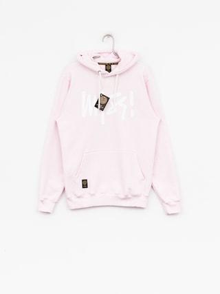 Bluza z kapturem MassDnm Signature HD (light pink)