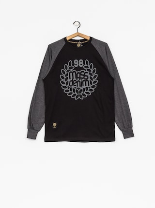 Longsleeve MassDnm Base (black/dark heather grey)