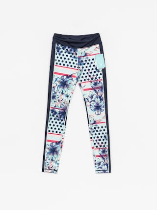 Legginsy Roxy Spy Game Pant Wmn (blue light rain daze)