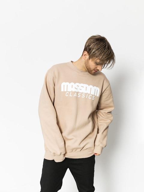 Bluza MassDnm Classics (beige)