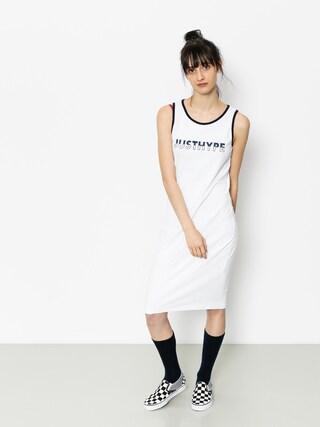 Sukienka Hype Split Logo Wmn (white/black)