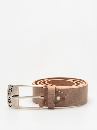 Pasek Stoprocent Texas (brown/silver)