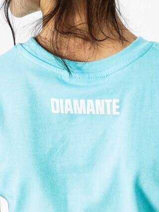T-shirt Diamante Wear Sore Wmn (teal)