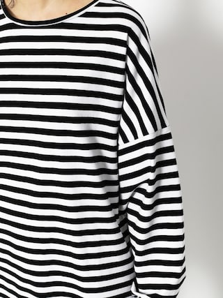 Longsleeve The Hive Stripes Wmn (black/white)
