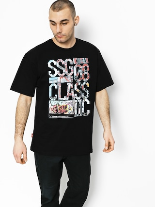 T-shirt SSG Graffiti Letters (black)