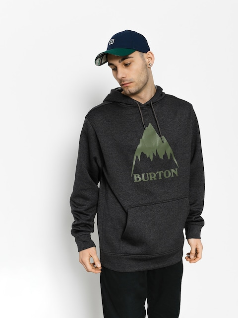 Bluza z kapturem Burton Oak HD (true black heather)