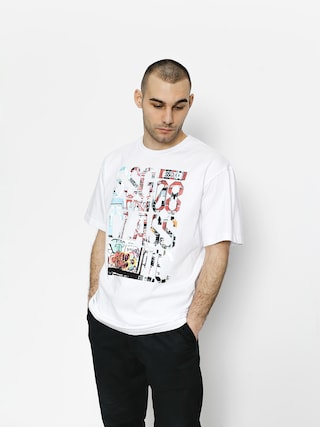 T-shirt SSG Graffiti Letters (white)