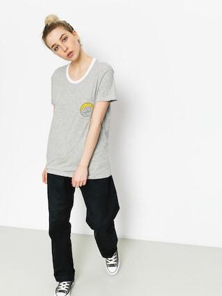 T-shirt Element Camp Ringer Wmn (heather grey)