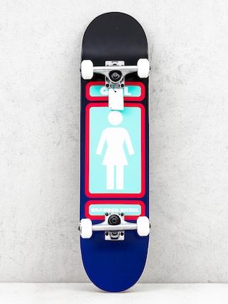 Deskorolka Girl Skateboard Biebel 93 (black/navy)
