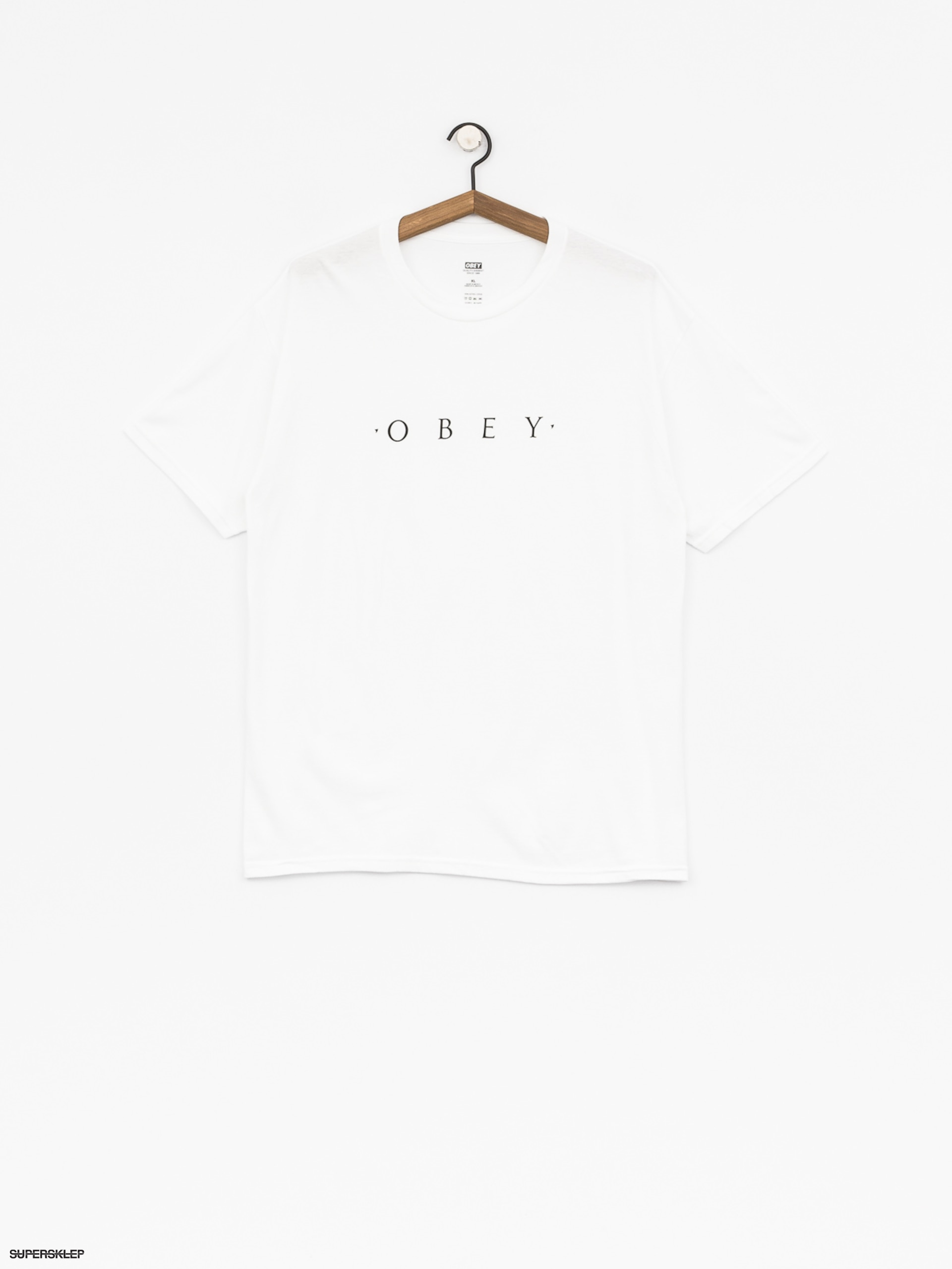T-shirt OBEY Novel Obey (wht)