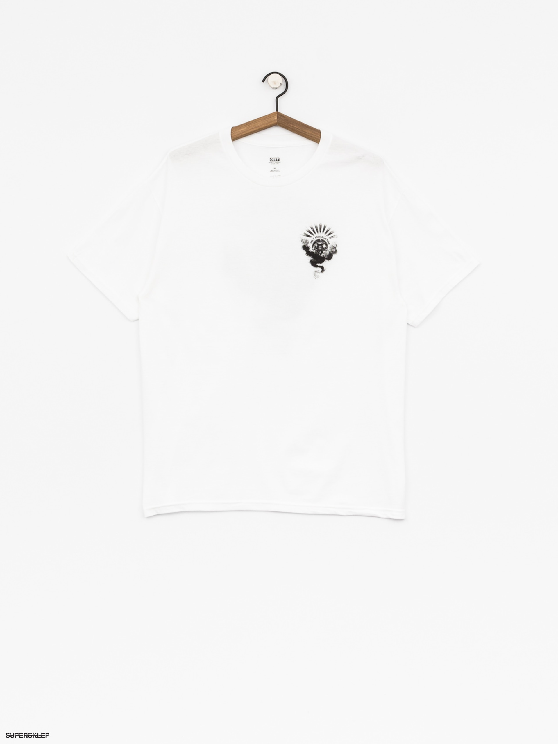 T-shirt OBEY Obey Cult Of Dark Smoke (wht)