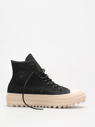 Trampki Converse Chuck Taylor As Lift Ripple Hi Wmn (black/black/natural)
