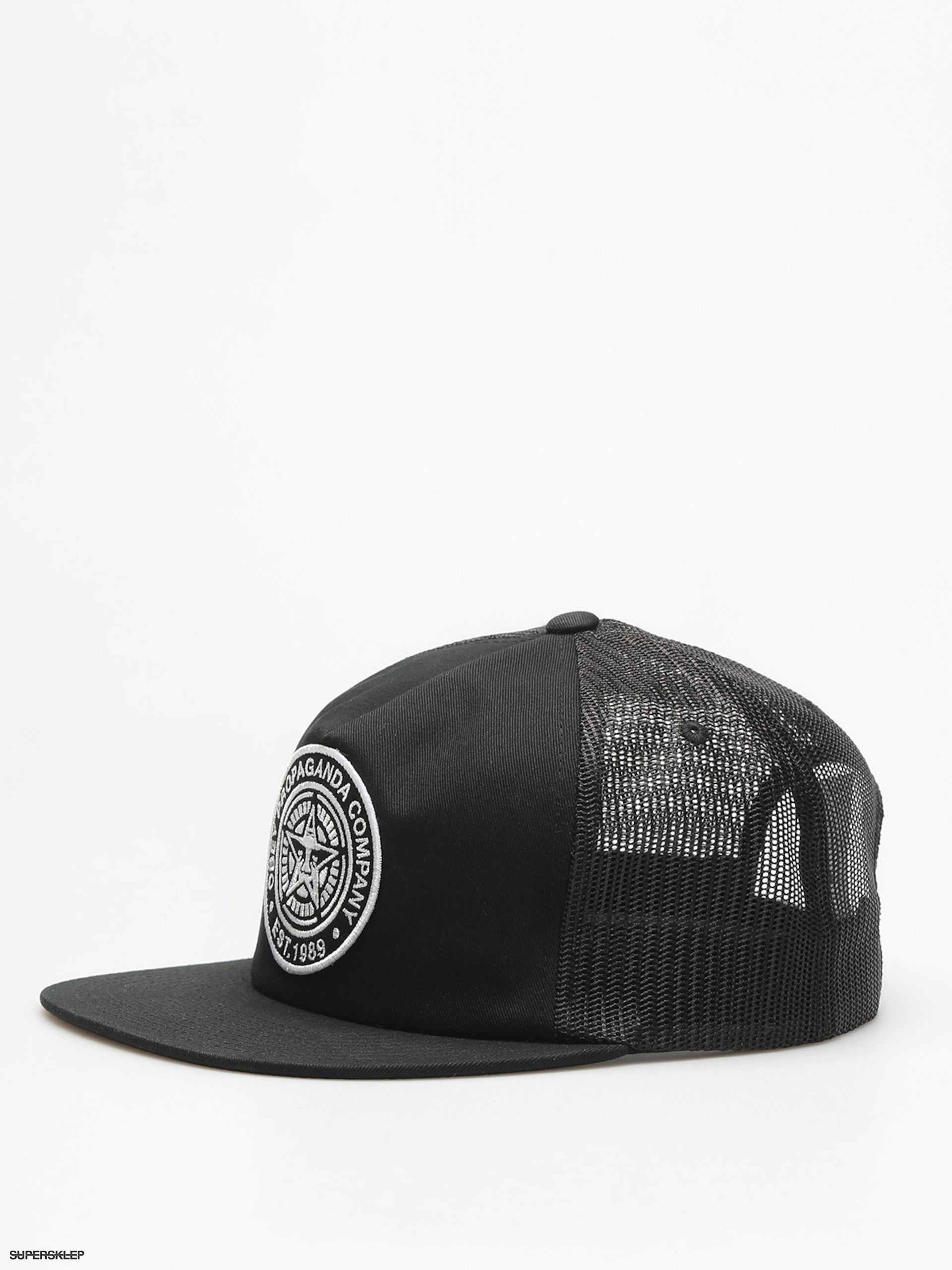 Czapka z daszkiem OBEY Established 89 Trucker II ZD (blk)