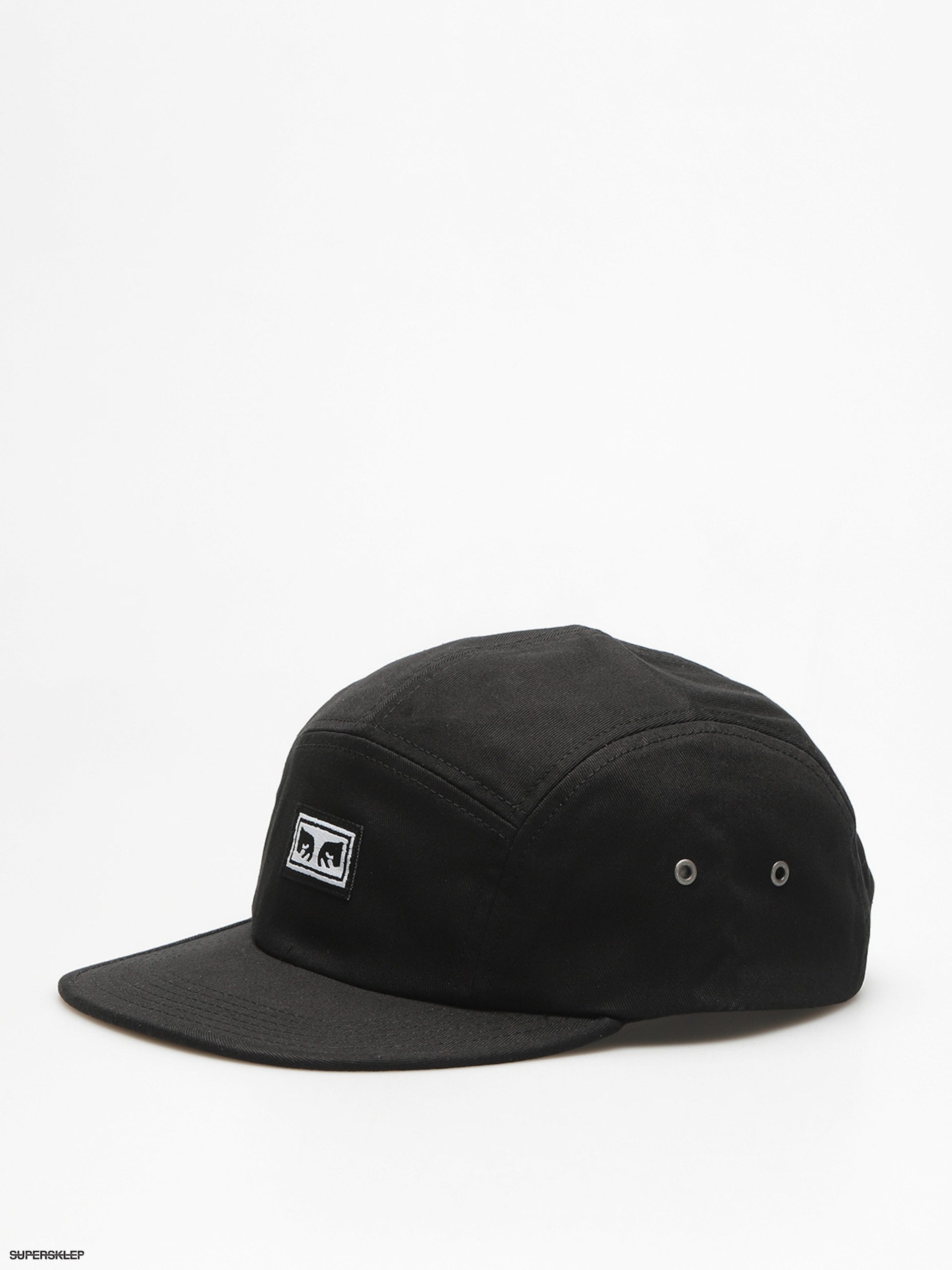 Czapka z daszkiem OBEY Subversion 5 Panel ZD (blk)