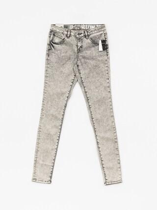 Spodnie Volcom Super Stoned Skinny Wmn (bkg)