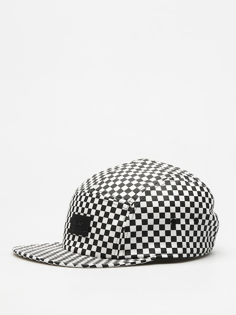 Czapka z daszkiem Vans Davis 5 Panel ZD (black white/check)