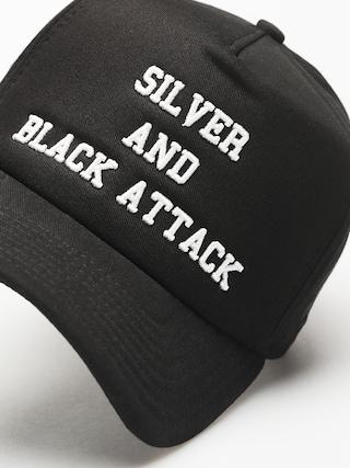 Czapka z daszkiem New Era Silver And  Black Attack ZD (black)