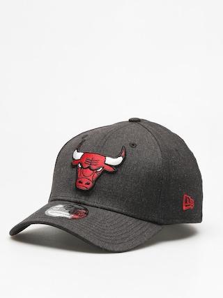 Czapka z daszkiem New Era 39Thirty Heather Team Chicago Bulls ZD (heather black)