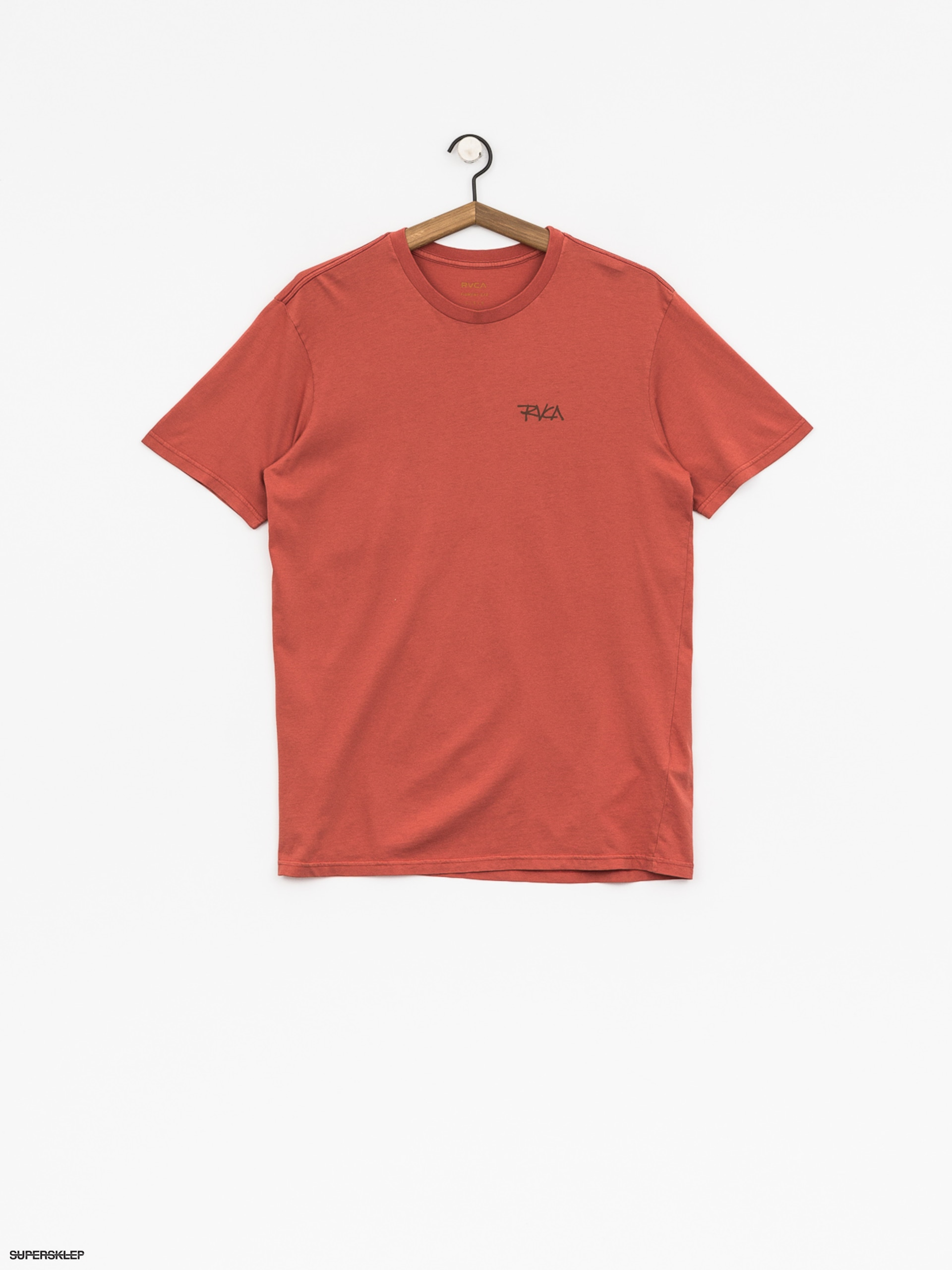 T-shirt RVCA Rvca Scrawl (red clay)