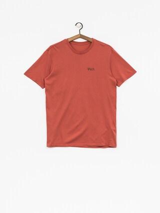 T-shirt RVCA Rvca Scrawl (red clay)