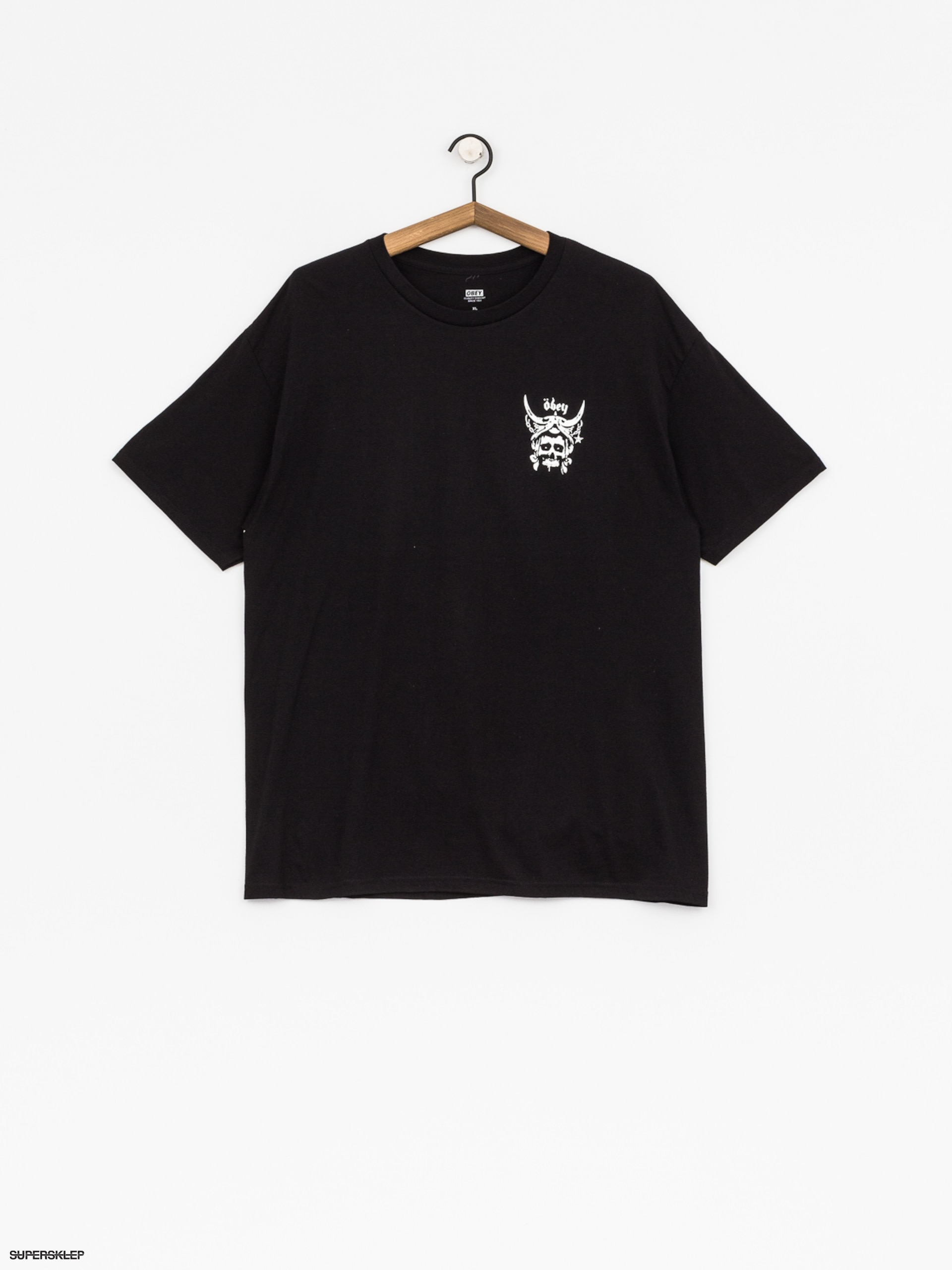 T-shirt OBEY No Sleep At All (blk)