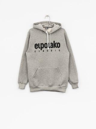 Bluza z kapturem El Polako Classic Logo HD (grey)