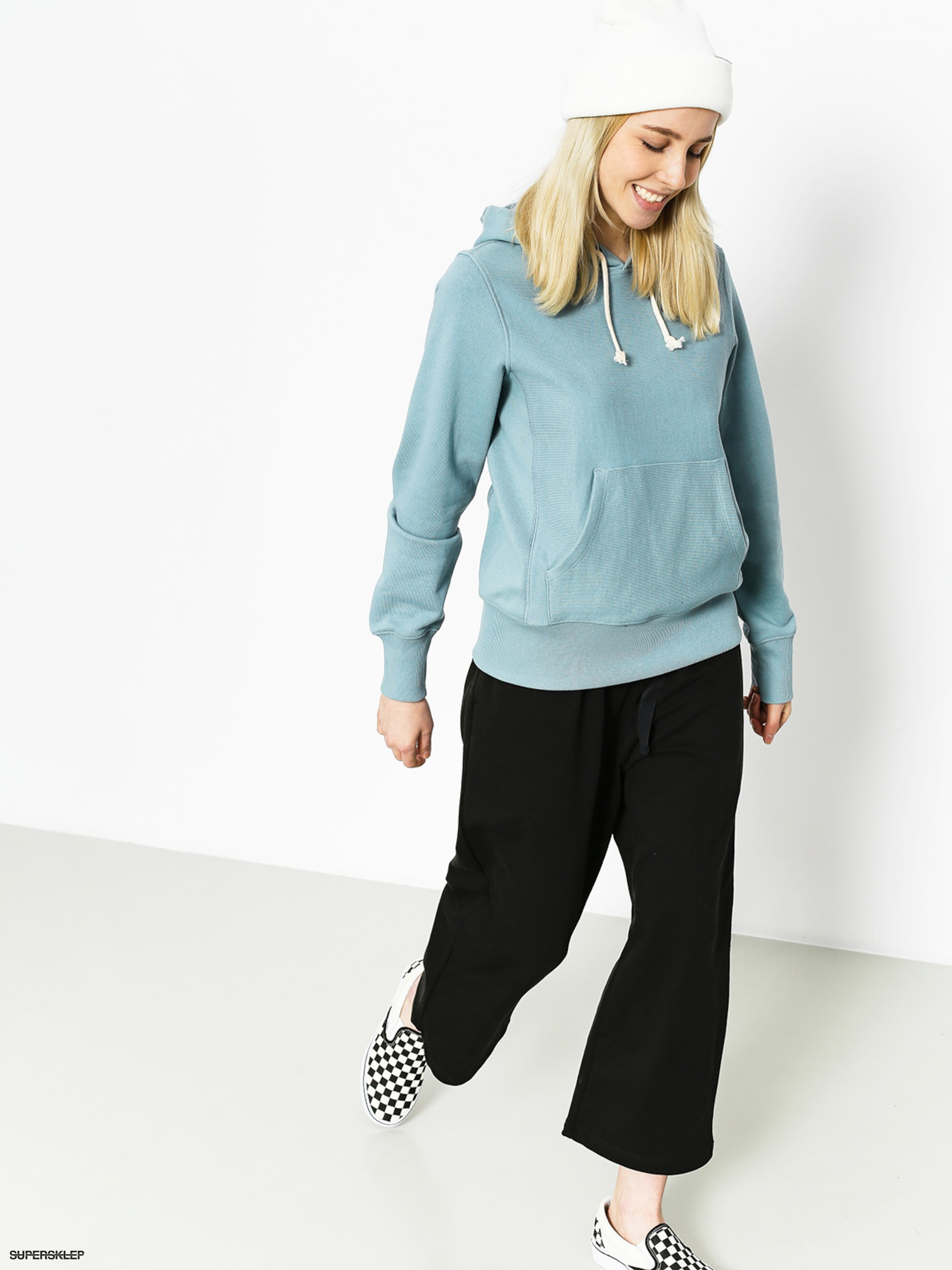 Bluza z kapturem Champion Reverse Weave Hooded Sweatshirt HD Wmn
