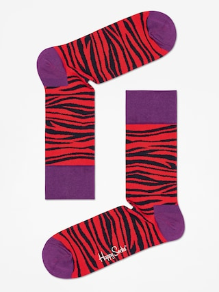 Skarpetki Happy Socks Zebra (red/black)
