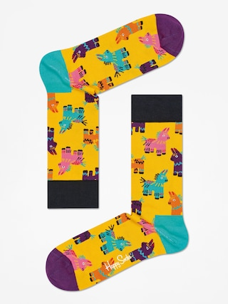 Skarpetki Happy Socks Giftbox 3pk Party Animal Singing (multicolor)