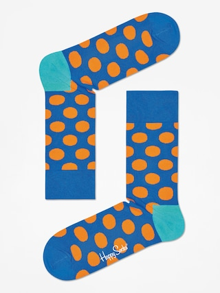 Skarpetki Happy Socks Big Dot (blue/oragne)