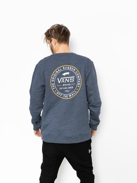 Bluza Vans Established 66 Crew (dress/blues/heather)