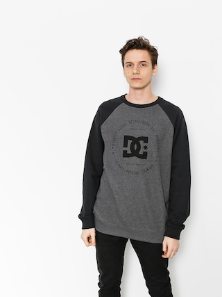 Bluza DC Rebuilt Crew (black/charcoal heather)