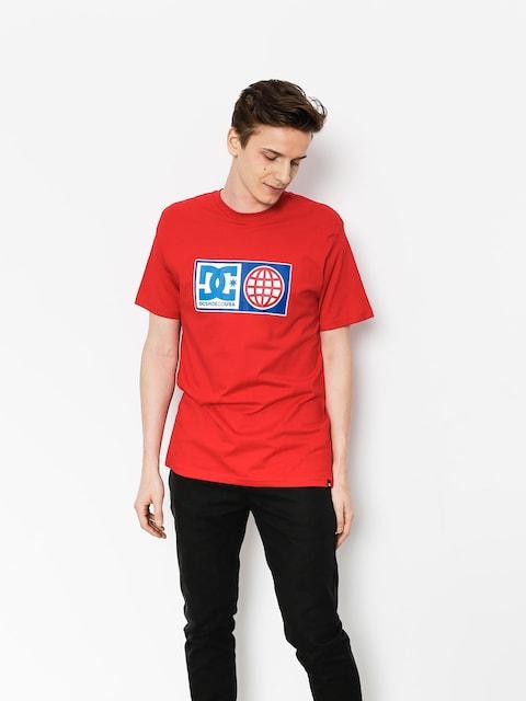 T-shirt DC Global Salute (tango red)