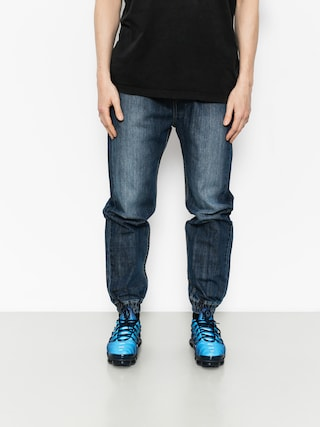 Spodnie MassDnm Joggers Signature (dark blue)