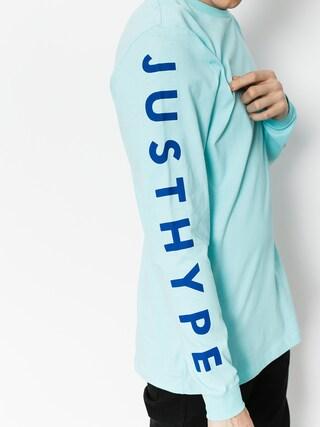 Longsleeve Hype Justhype (mint/blue)