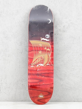 Deck Real Davis Starboard (black/red)